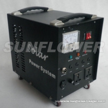 110W Solar home power system