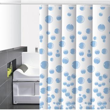Waterproof Bathroom printed Shower Curtain Ring