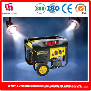 2.5kw Gasoline Generator Set for Home & Outdoor Use (SP4800E2)