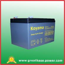 Batterie de cycle profond de 14ah 12V