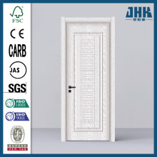 JHK Flower Carved PVC Bathroom Honeycomb Door