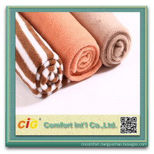 Wholesale Polyester Knitted Soft Sofa Velvet Fabric for Home Textile