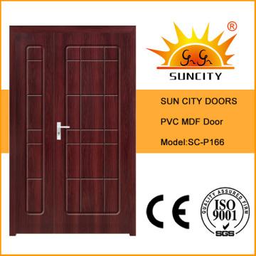 Hochwertige indische Luxus Solid WC Tür Designs (SC-P166)