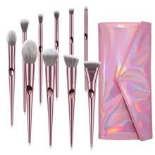 10 PCS High Quality Wholesale Professional Make up Brushes Kit Pink Makeup Brush Set