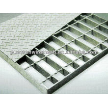 YB/T4001-2007 mesh grating / flooring and platform steel grating panel / grid plate