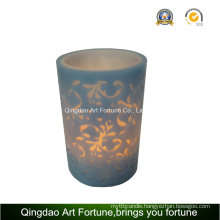 Scented Handmade Flameless LED Candle with Remote Control Supplier