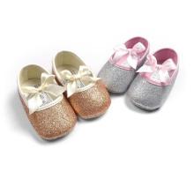 Zapatos de bebé antideslizantes de suela blanda de 5 colores Primeros mocasines de niño pequeños de Walker
