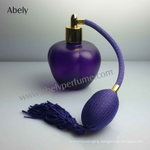 Hot-Selling Purple Glass Perfume Bottle with Vintage