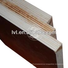 Mejor precio tablero de madera contrachapada marina para la construcción hecha en CHINA