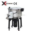 Grand mélangeur de couleur vertical, mélangeur matériel en plastique, machine de mélangeur industrielle avec le réchauffeur