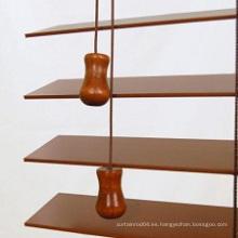 Persianas de madera de la borla del estilo del Basswood americano (SGD-W-5145)