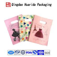 Bolso de empaquetado del regalo plástico colorido directo de la fábrica