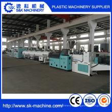 Máquina automática de fabricação de tubos de PVC para abastecimento de água