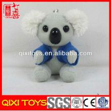 Stock plush koala toy, koala plush clip, koala keychain toy