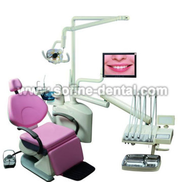 Three fold Top Mounted Dental Unit
