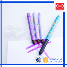 KH1701 new design color crayon series mini rotated solid highlighter