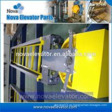 Estructura del elevador para el bloque de contrapeso
