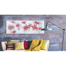 Hydrangea Oil Painting Flower Wall Art