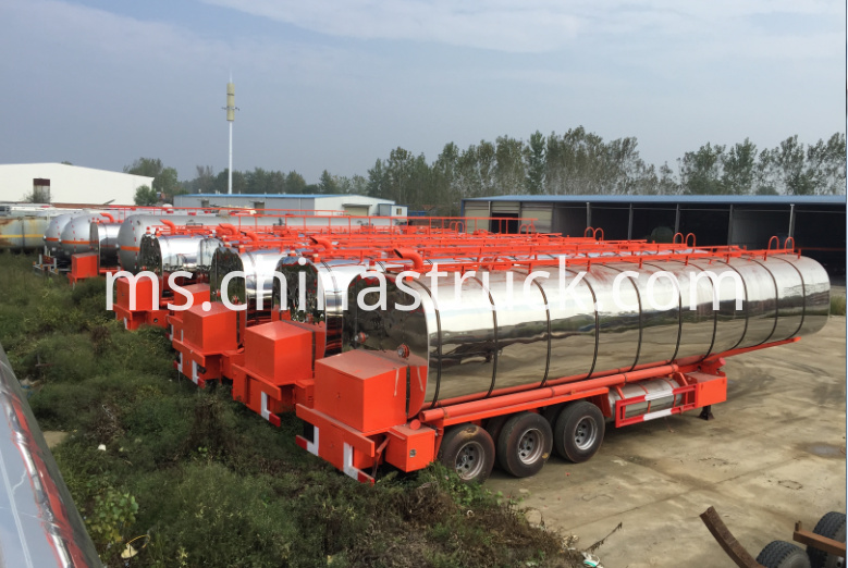 3 axle liquid asphalt tank semi-trailer