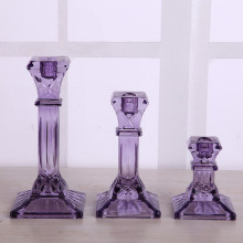 Classic Purple Square Square Holder Candlestick Holder