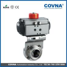 Válvula de control de vapor del actuador neumático
