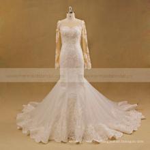 Robe de mariage Guangdong usine costume robe de mariée robe de dentelle