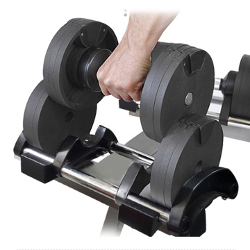 Kettlebell Fitness Factory Crossfit Sporting Goods Hex Adjustable Dumbell Weights Pound Dumbbell Rack Home Gym