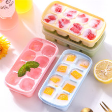 Ice Cube Trays with Lid 8-Ice Cube Tray