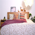 Cobertores de cama de microfibra polares macios de cor pura