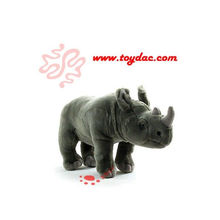 Plush Wild Animal Rhinoceros