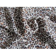 Velout imprimé en mousseline de soie polyester pour robe (XSFC-003)