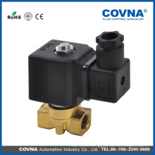 3way Brass air Direct Acting Solenoid Valve with normally closed