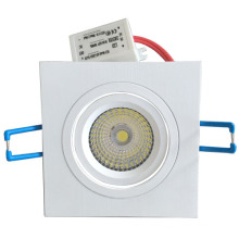 3 года гарантии 8w dimmable cob led downlight