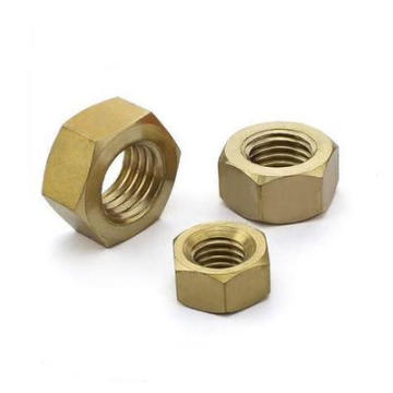 High Quality DIN934 Hex Brass Nuts