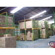 Customized height Drive in warehouse pallet racking , steel