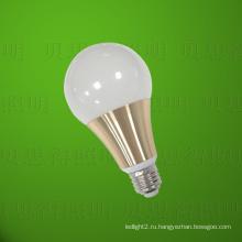 Литой алюминий Золотой светодиодный свет лампы 15W