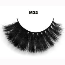 Wholesale False Eyelashes 100% Hand-make Strip Horse Hair Eyelashes