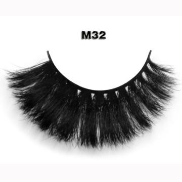 Wholesale False Eyelashes 100% Hand-make Strip Horse Hair Eyelashes