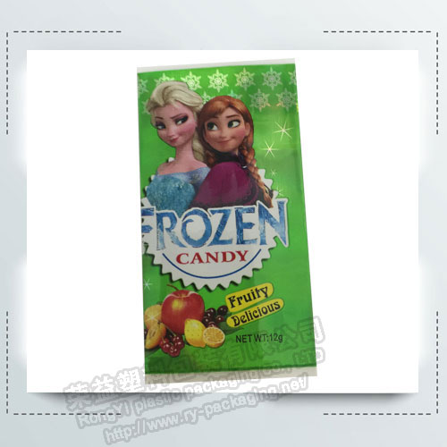 Frozen Candy Shrink Label