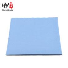 Tissu de nettoyage de soie de microfiber de 15 * 15cm d'impression de soie