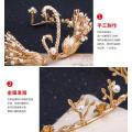 24k Золотая Корона И Тиара Китайская Традиционная Корона Китай Женщины Сорняк Tiara