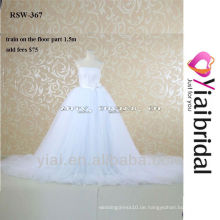 RSW367 Tulle Hochzeitskleid