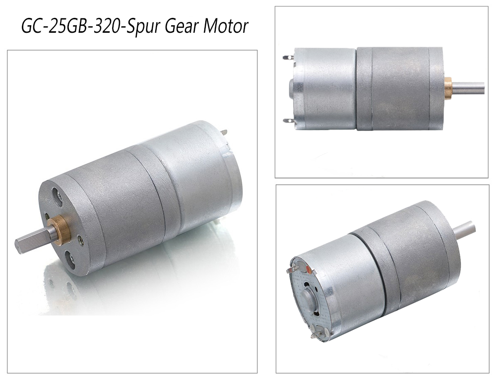 geared dc motor 12v