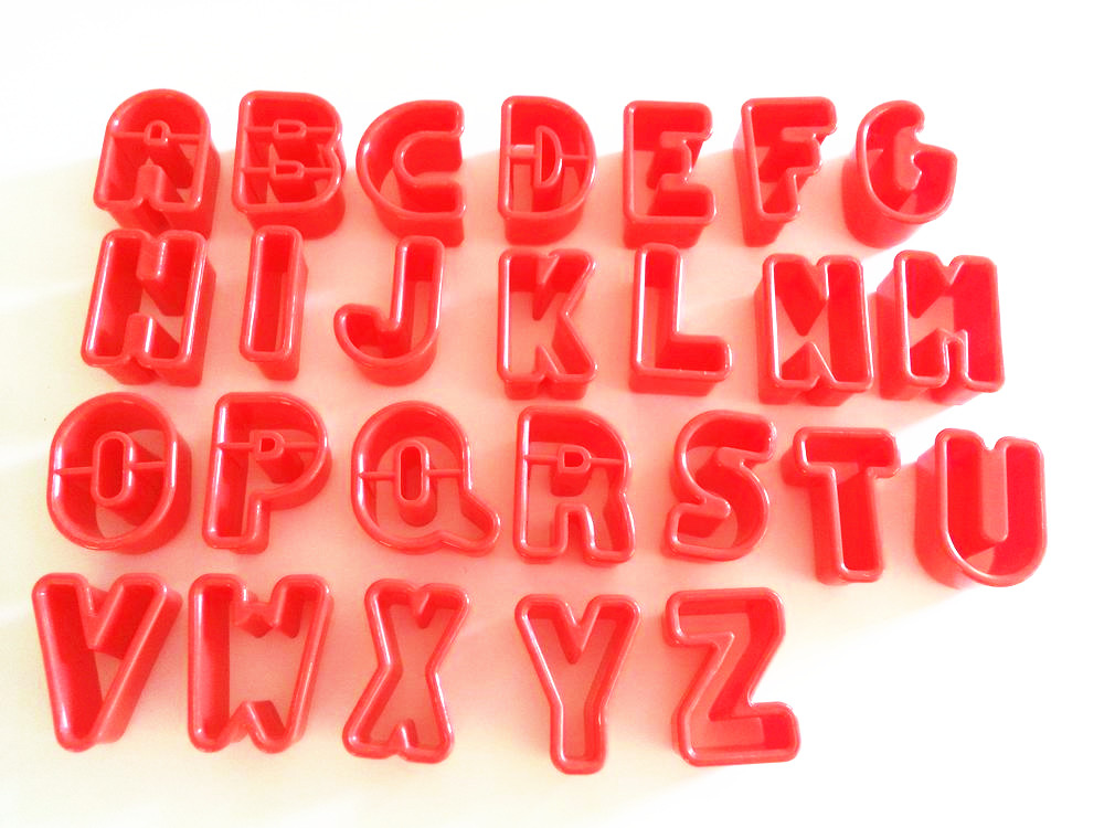 Plastic Cookie Cutter Set