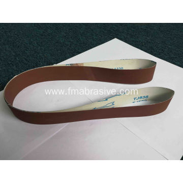 Calcined Aluminum Oxide J-wt Cloth Abrasive Belt TJ538