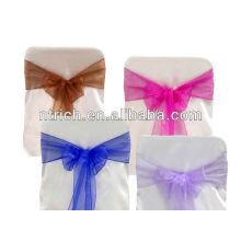 2013 Cheap Wholesale Elegent Organza chair sash