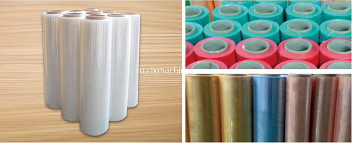 stretch/cling film making machine