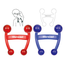 Personalized Logo Colored Back Massagers W/ Four Points