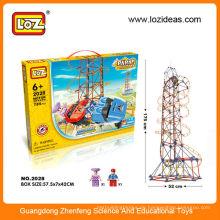 Heiße neue Produkte für 2014 LOZ Achterbahn Spielzeug