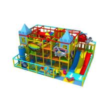 Campo de jogos interno feito personalizado personalizado Kp161107 do projeto colorido do tema das crianças